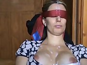 1fuckdatecom Blindfold cumshot
