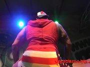 Jakeline Teen fucking Rob Diesel on stage