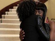 Ebony Lesbians Ana Foxxx And Misty Stone