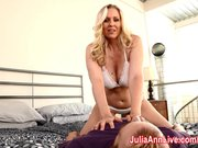 Julia Ann Lets Him Titty Fuck Her Big Tits!