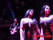 Las hermanas Ortega con la pornoband