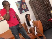 Ebony Porsha Carrera Creampied