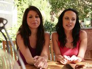 Curious Lesbians Katie StIves And Mia Gold