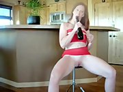 kinkyandlonelycom Redhead sex