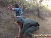 Interracial cop first time Mexican border