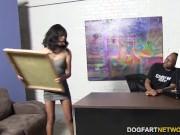 Ebony Amber Steel Gets Revenge On Her Bf