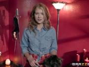 Brazzers - Naughty Dom punishes young teen