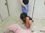 Bondage fucking with pussy clamps Talent Ho