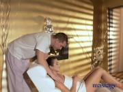 Massage Rooms Intense and sensual orgasms for sexy Russian brunette