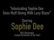 Intoxicating Sophie Dee Goes Muff Diving With Lucy Blaze!