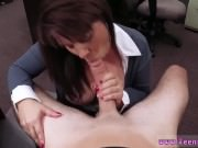 Real amateur couple MILF sells her