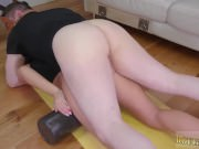 Rough sex choking xxx young anal bondage