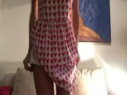 Redhead Amateur from CamX69 . com is Masturbating & Squirting in Pleasure