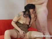 Horny Mom Ass Rimming And Fucked