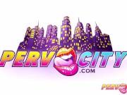 PervCity Deepthroating Sluts Adrianna Nicole and Dana DeArmond