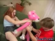 Teen playing strip poker Tanya gets her
