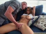 Dad and tiny playmate's daughter first time