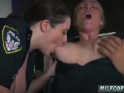 School toilet blowjob fake cop cum inside