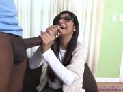 Teen bus blowjob She's panicked of the huge
