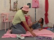 Sloppy blowjob swallow Monica gets a large