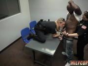 Black girl punishes white xxx smoking