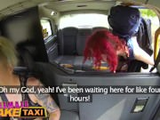 Female Fake Taxi Hot redhead hitchhiker gets the sexual ride of her life