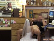 Big boob milf strap on first time A bride's